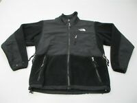 THE NORTH FACE Women Size S Vented Midweight Black Full Zip Fleece Denali Jacket