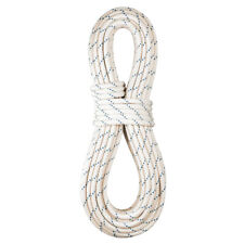 """BlueWater Ropes Static Rope 12.5mm (1/2"""") x 50' SafeLine - Wh/Bl"""