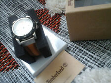 bracelet montre timberland cuir marron