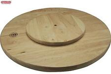 Apollo Rubberwood Lazy Susan Dinnerware Serveware Kitchen Home New