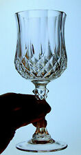 Cristal d'Arques LONGCHAMP 24% lead crystal WINE GLASS STEM made in FRANCE 6oz
