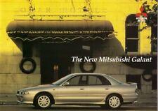 Mitsubishi Galant 1995-96 UK Market Sales Brochure 1.8 2.0 GLSi 2.0 V6 24v