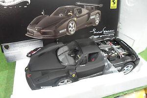 FERRARI ENZO test car Monza 2003 noir 1/18 ELITE HOT WHEELS MATTEL X5488 voiture