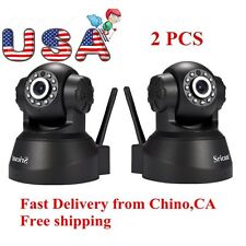 2Pack Sricam 3MP 720P Wireless IP Camera WiFi Security Night Vision Cam USA VIP