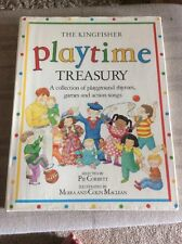 HARDBACK BOOK THE KINGFISHER PLAYTIME TREASURY  SELECTED BY PIE CORBETT