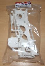 Tamiya 47405 WR-02CB D Parts (Chassis) (White), WR-02/Comical Grasshopper/Hornet