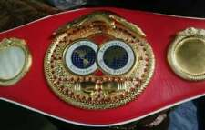 IBF Boxing Replica Belt Adult Size Brass Plated