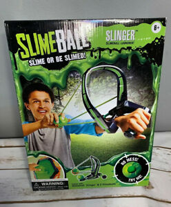Slimeball Slinger Launcher W/ 2 Slimeballs Factory Sealed New Ages 6+
