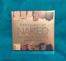 Urban Decay Naked Ultimate Basics All Matte Eyeshadow Palette New NIB Brush