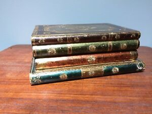 Italian Tole Trinket Box Stack of Books