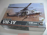 Kitty Hawk 80124 1/48 Venom UH-1Y Assembly model New