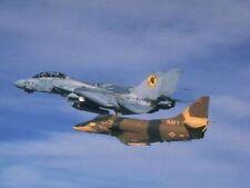 TOP GUN TOPGUN F-14 TOMCAT FIGHTER JET MOVIE 8X10 PHOTO PICTURE - WOW!