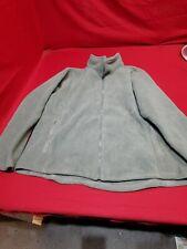 RLCB Fleece Jacket Alpha Green LARGE Full Zip