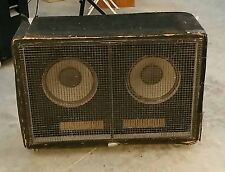 "Speaker box  2 x 12""  Australian made 231 Etone speakers 120W"