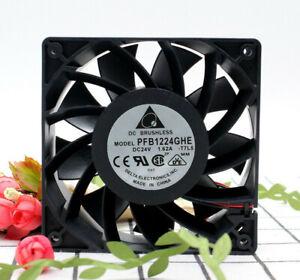 Delta PFB1224GHE 12038 24V 1.62A 32.4W 2-pin high power ABB inverter fan