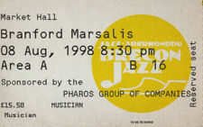 Branford Marsalis 1998 Concert Ticket Stub Market Hall Uk