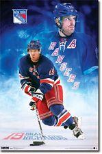 New York Rangers Brad Richards Poster Art 22x34 TR5350