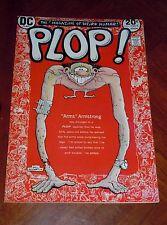 Plop #1 (1973) Vf (8.0) cond. Wrightson, Aragones, Wolverton High Grade!