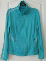 Tangerine Active Mesh Lightweight Zip Jacket TURQ Women's Sz XL NWT
