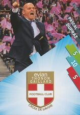 ETG-01 LOGO ECUSSON - DUPRAZ # EVIAN THONON CARD ADRENALYN FOOT 2015 PANINI