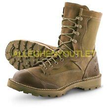 "Wellco USMC RAT 8"" Military Leather Boots Mojave GTX GoreTex E163 Sz 9 R NEW"