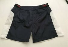 NWT 100% AUTH Gucci Boy Navy Blue/White Waterproof Swimming Trunk 371783 Sz 10