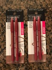 2 New Maybelline Expert Wear Twin Eye & Brow Pencil Liners - Blonde