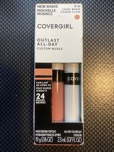 Covergirl Outlast All-Day Lip Color Custom Nudes, #910 Light Warm