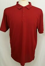 New Columbia Golf Omni-Wick Round One Polo Maroon Short Sleeve Shirt Men's L