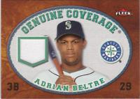 2007 Fleer Genuine Coverage #BE Adrian Beltre Jersey - NM