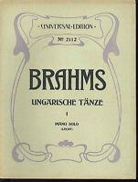 """Brahms : """" Ungarische Tänze I """" Piano solo ~ ( leicht )"""
