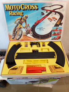 PISTA TYCO ARCOFALC MOTO CROSS RACING ART.86215 1986, NO POLISTIL
