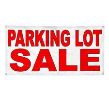 Vinyl Banner Multiple Sizes Parking Lot Sale Weatherproof Industrial Yard Signs
