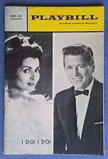 46th St. Theater PLAYBILL, Vol 4, # 12, December 1967, I DO! I DO, Very Fine.