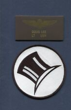 DIVE BOMBER Warner Brothers Movie Errol Flynn DR LEE Squadron Patch Name Tag 1