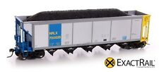 Exact Rail Evolution HO NRLX AutoFlood Coal Hopper NEW EP-1307-12