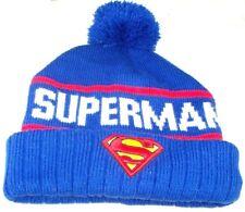 1db5f1c7e6a DC Comics Superman Watchmen Knit Cuffed Winter Hat Beanie Sky Cap Man Of  Steel