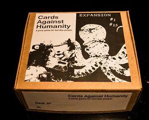 Cards Against Humanity - GIOCO TRADOTTO IN ITALIANO - ESPANSIONI #1- #1.5