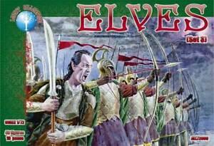 Elves (Set 3) (40 figures / 10 poses) 1/72 Alliance 72006