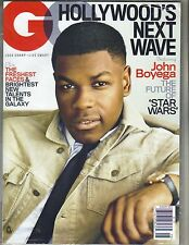 John Boyega Gq Revista 8/17 Agosto 2017 Star Wars Sellado