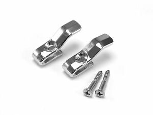 1964-1966 Ford MUSTANG - Chrome Coat Hooks (Pair) COUPE AND FASTBACK