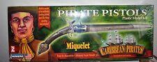 """Lindberg Pirate Pistols Plastic Model Kit """"The Miquelet"""" Nib"""
