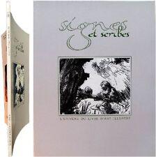 Signes et Scribes n°2 1987 Univers du livre d'art illustré bibliophilie reliure