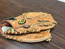 Wilson Optima Gold Select Baseball Glove Premium Cowhide Leather RHT OG3 A9824