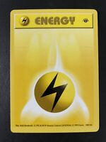 LP//NM 1st edition Pokemon WATER ENERGY Card BASE 102//102 First ed Shadowless