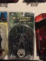 DC DIRECT Blackest Night Series 5 Collector Action Figure: BLACK LANTERN BATMAN
