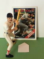 1988 Starting lineup Wade Boggs figure Toy With 1988 Topps Card Boston Red Sox
