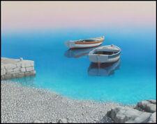 Croatian beach ADRIATIC PARADISE Coastal wall art beach house living rooms decor