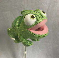 Tangled Pascal the Chameleon 8 inch Green Plush Smiling Lizard
