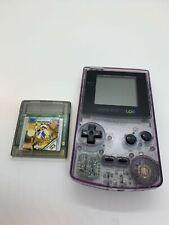 Nintendo Gameboy Color Lila Transparent inkl. Spiel